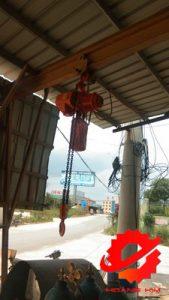 Pa lăng xích điện 3 tấn cố định