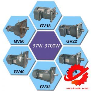Model motor giảm tốc GV