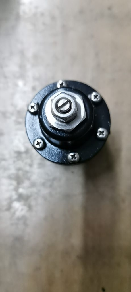Van khóa khí ZBP