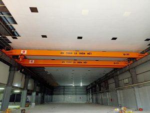 Lắp đặt cầu trục 2 tấn dầm đơn